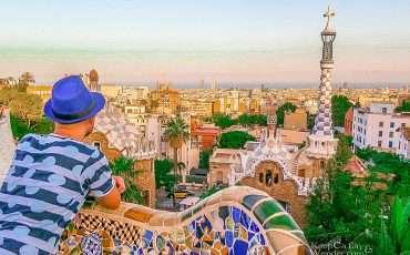 Park Guell Barcelona Spain 5