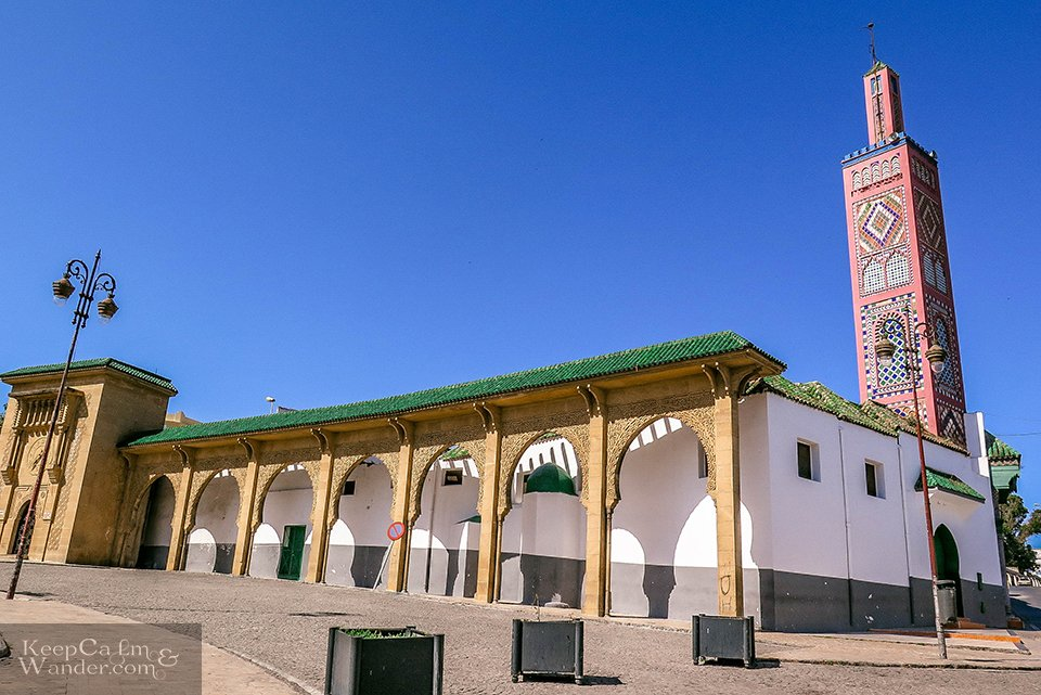 5 Things to do in Tangier (Grand Mosque in Tangier, Morocco).