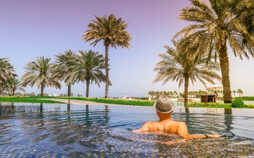 Infinity Pool.Ritz-Carlton Bahrain Things to do in Bahrain Manama