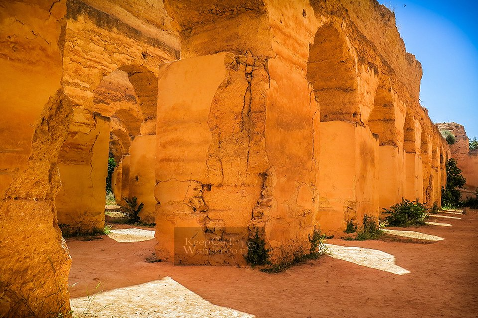 Four Attractions Not to Miss in Meknes (De Moulay Ismail Mausoleum, Morocco).