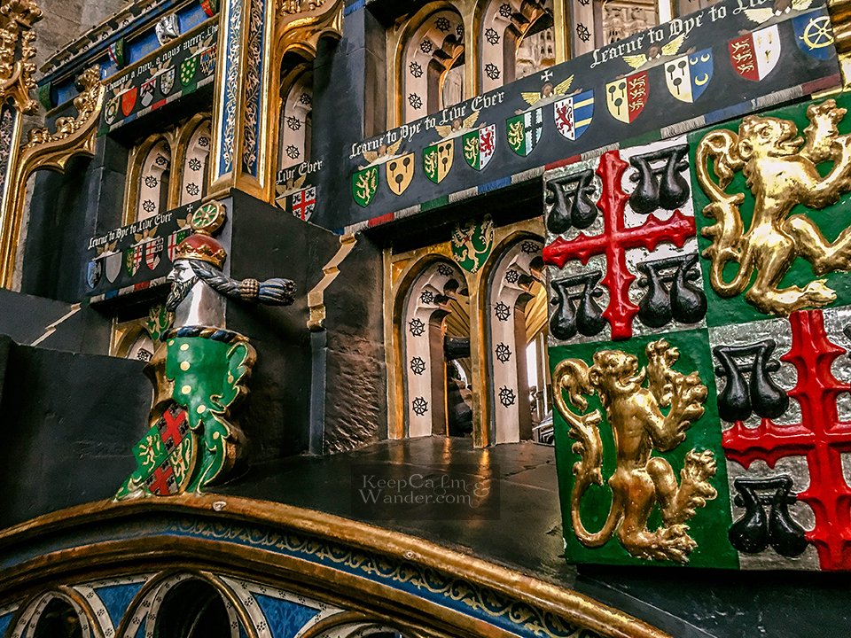 Inside the Westminster Abbey (London, England)