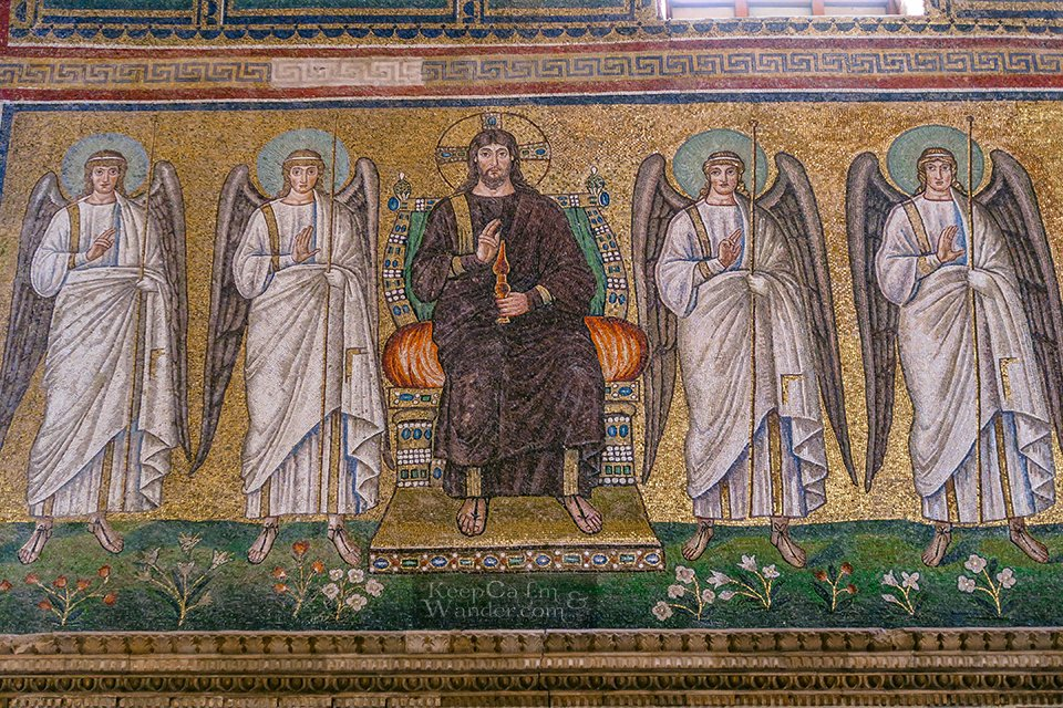 These Splendid Mosaics at Basilica Sant'Apollinare Nuovo Will Take Breath Away (Ravenna, Italy).