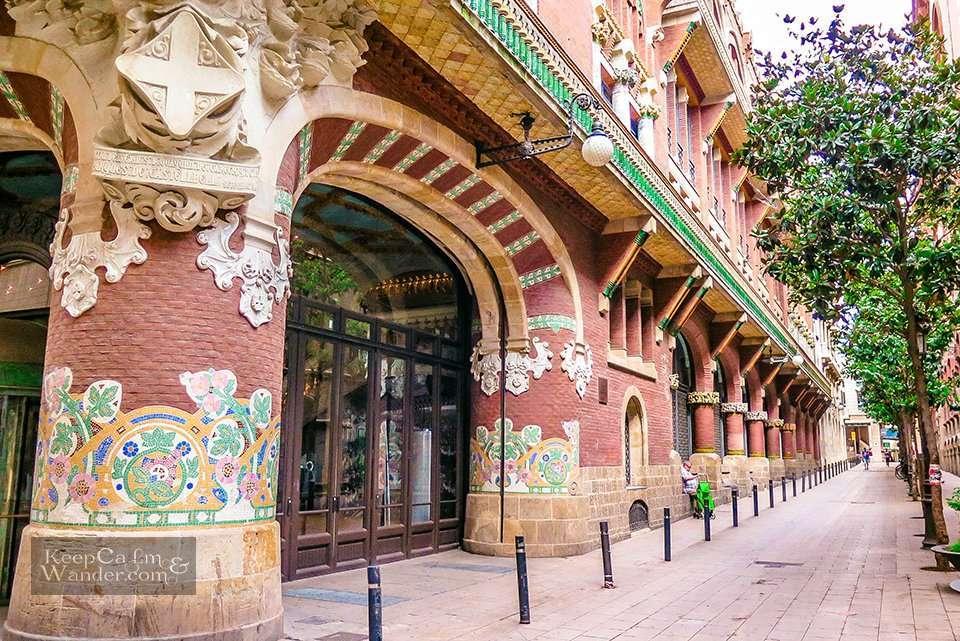 Catalan Modernism - 5 Interesting Facts about Palau de la Musica Catalana in Barcelona (Spain)