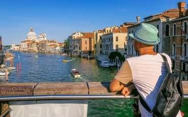 Ponte dell' Accademia Bridge Venice Italy 12