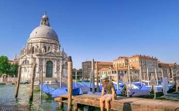 Santa Maria della Salute Venice Italy 1