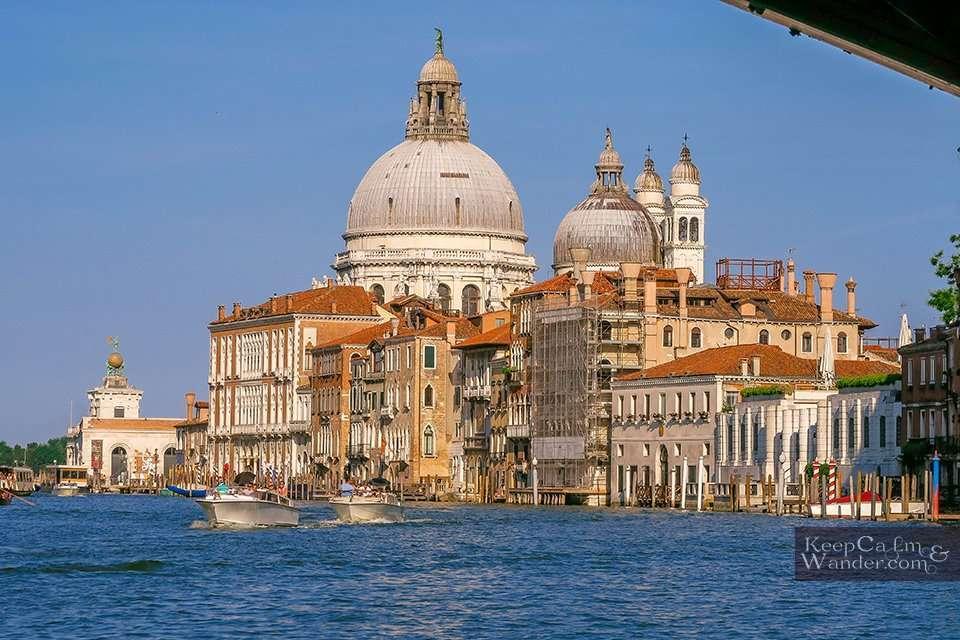 basilica Santa Maria della Salute - Where 12 Titian Paintings Hang Inside (Venice, Italy).