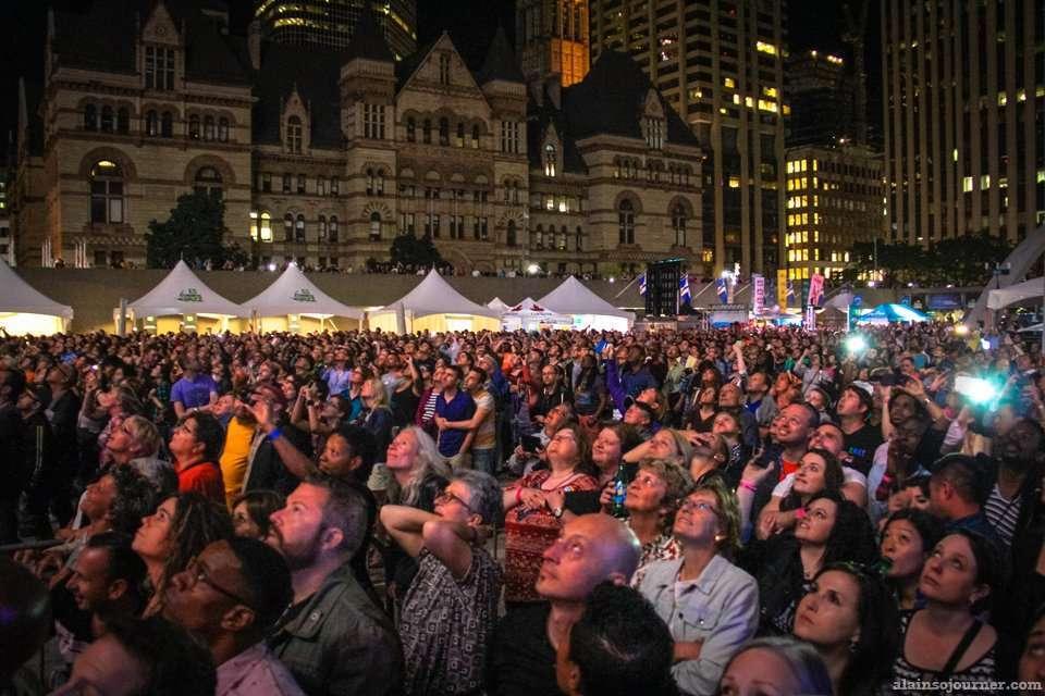 Melissa Etheridge and Deborah Cox Rock the World Pride Opening Ceremonies in Toronto.