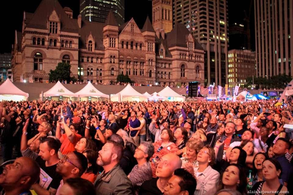 Melissa Etheridge and Deborah Cox Rock the World Pride Toronto Opening Ceremonies