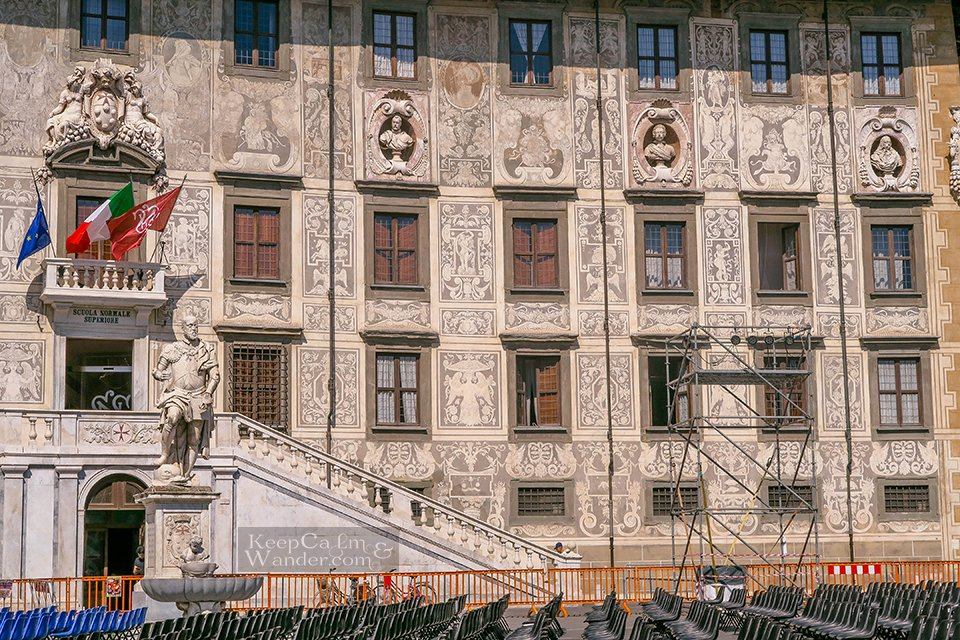 Knight Square Travel Itinerary: A Day in Pisa (Italy).