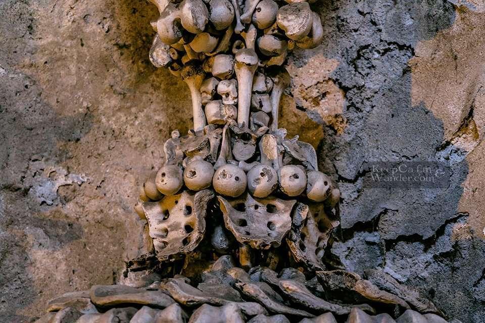 Church With 40,000 Human Bones Inside (Kutna Hora, Czech Republic).