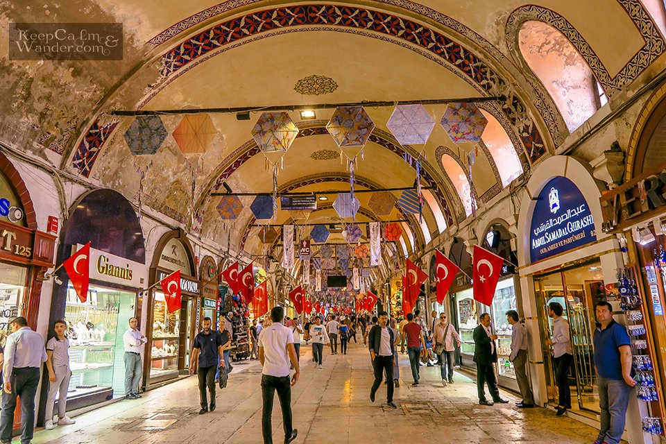 Shop 'Till You Drop at the Grand Bazaar in Istanbul – The World's Most Visited Tourist Attraction (Turkey).