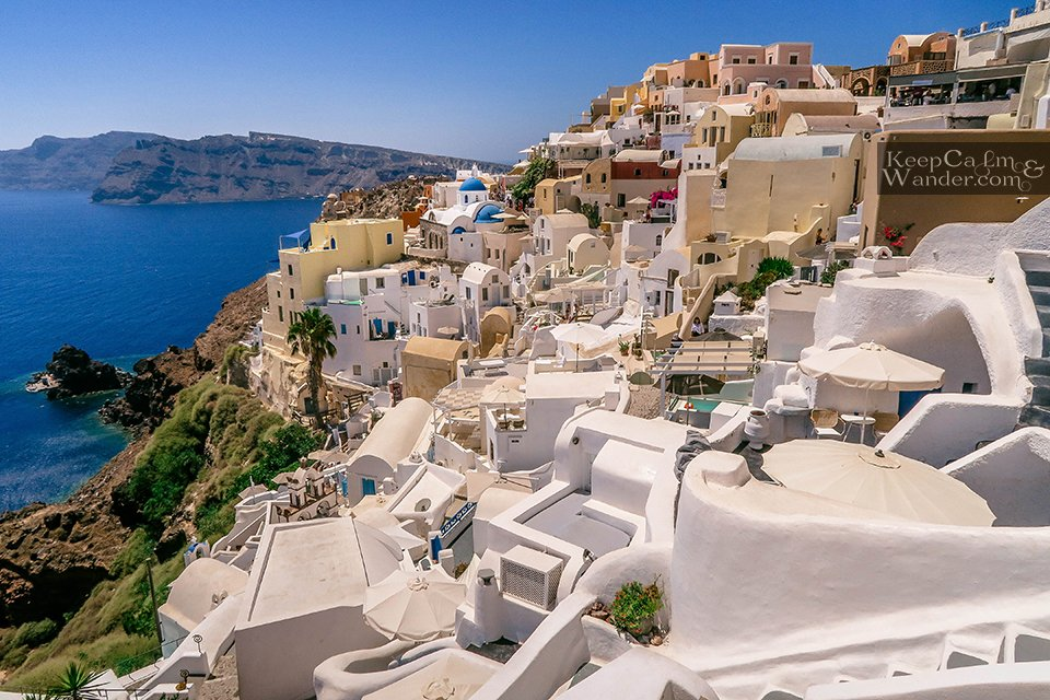 Santorini: Oia is Paradise on Earth (Greece).