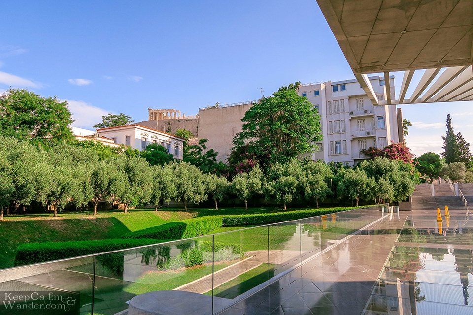 Inside the Acropolis Museum in Athens (Greece). Travel Blog Photo