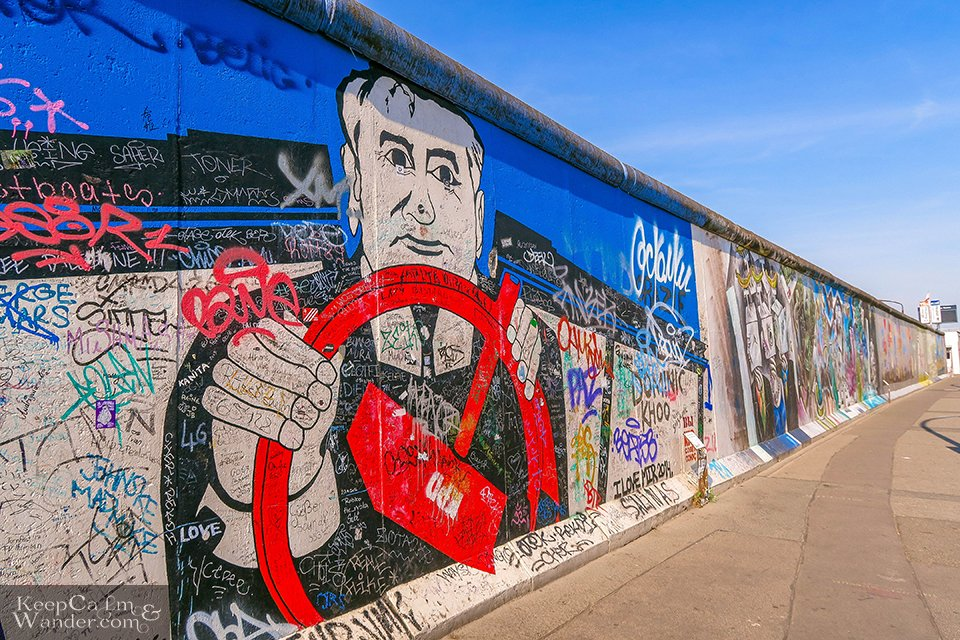 The Murals on the East Side Gallery of the Berlin Wall (Germany). Travel Photo Blog
