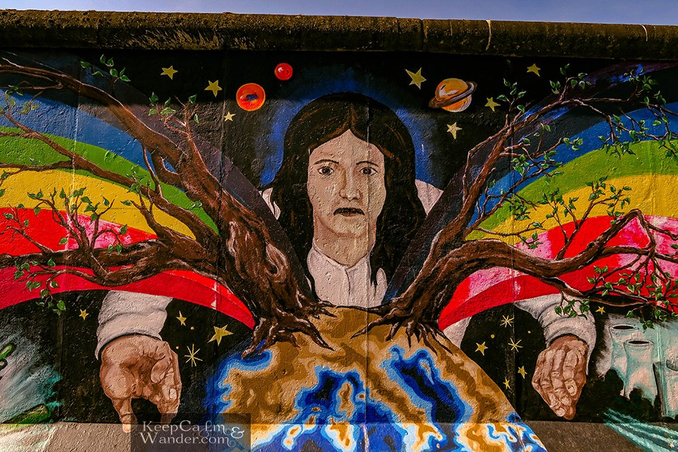 Travel Blog East Side Gallery of the Berlin Wall (Germany)