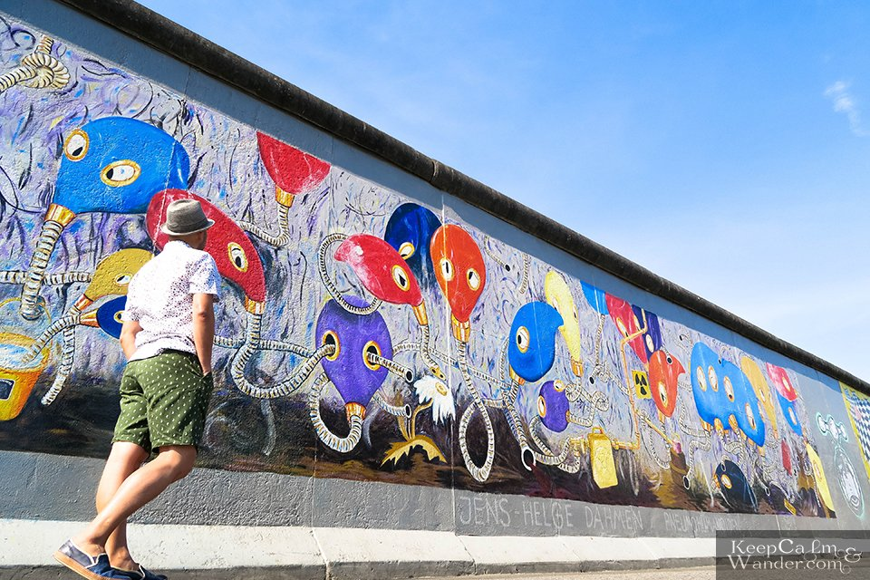 The Murals on the East Side Gallery of the Berlin Wall (Germany). Travel Blog Photo
