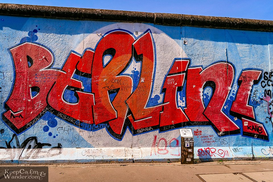 The Murals on the East Side Gallery of the Berlin Wall (Germany). Travel Blog Photos