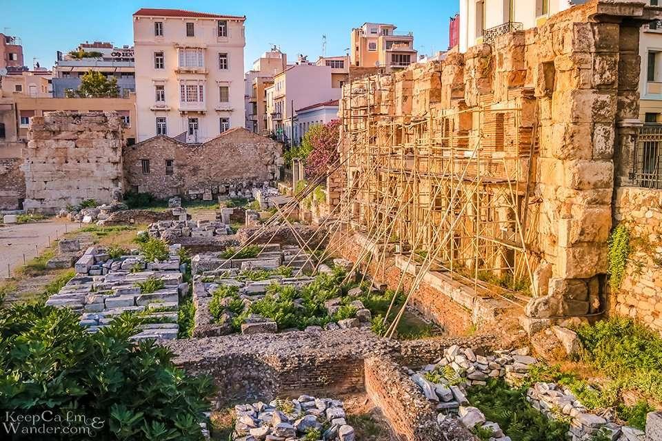 Monastiraki Athens Hostel Hotel Parthenon Greece Travel Blog