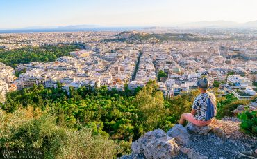 Mt Lycabettus Athens Greece Travel Blog Photo Sunset View 6