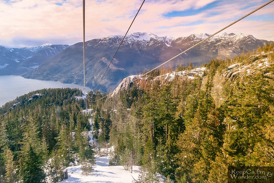 Sea to Sky - The Views From the Summit Are Breathtakingly Stunning (Squamish, British Columbia, Canada).