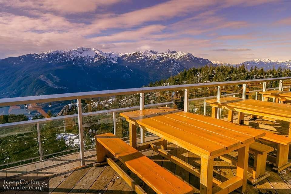 Gondola Ride - Sea to Sky (Squamish, British Columbia). Travel Blog Photos
