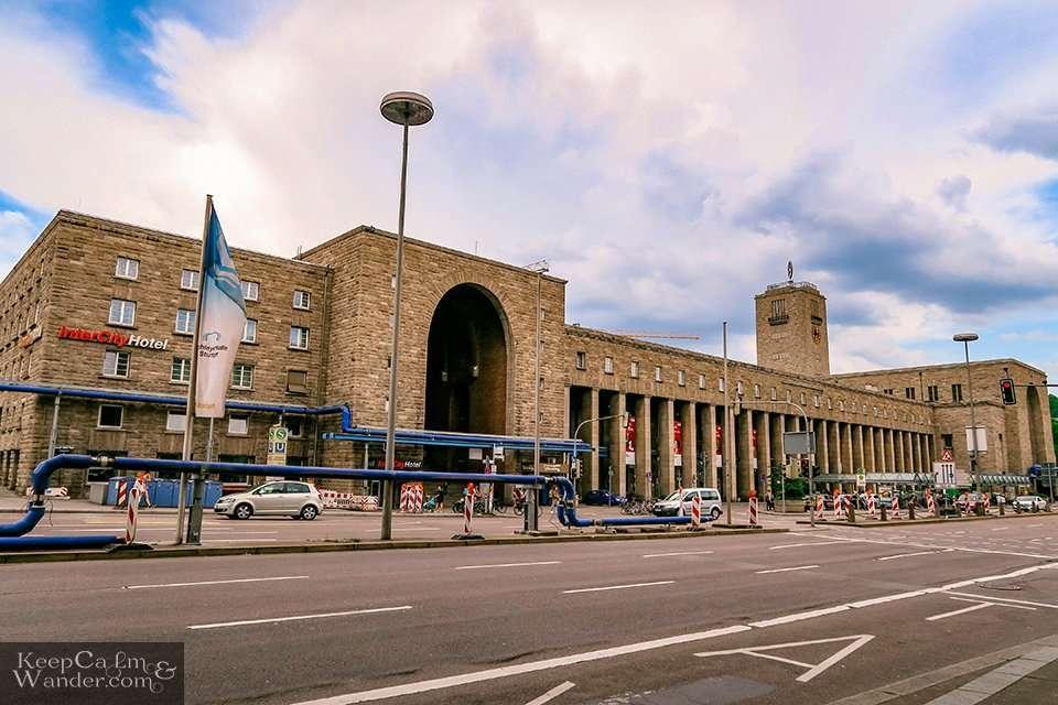 My Own Walking Tour in Stuttgart (Germany).