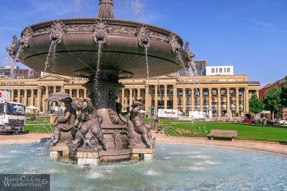 Schlosspark (Stuttgart, Germany).