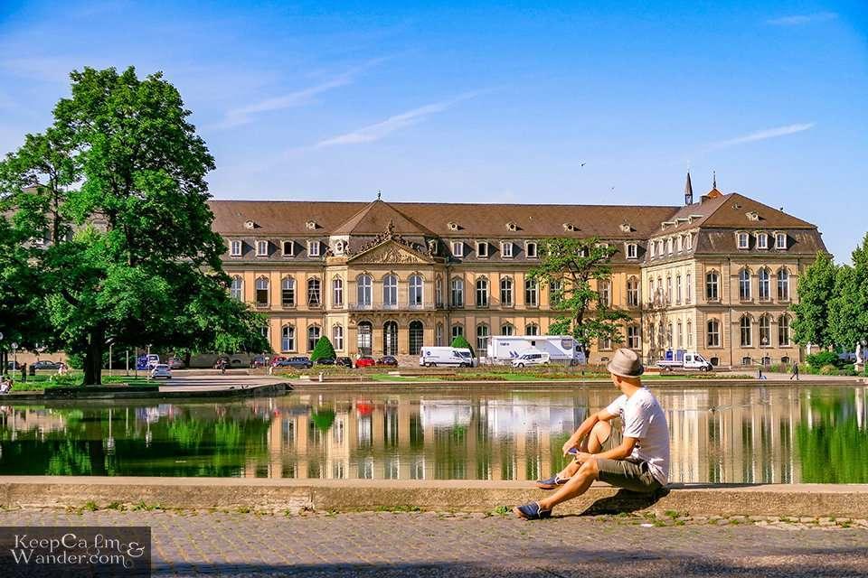 Eckensee Lake (Stuttgart, Germany). Travel Blog