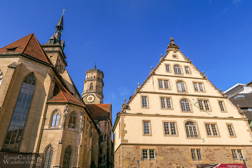 Stiftskirche in Stuttgart, Germany. Travel Blog