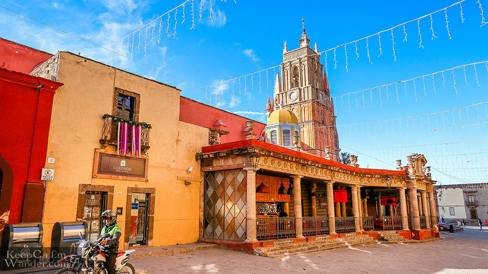 San Miguel de Allende Cathedral (Mexico). Travel Blog Photos