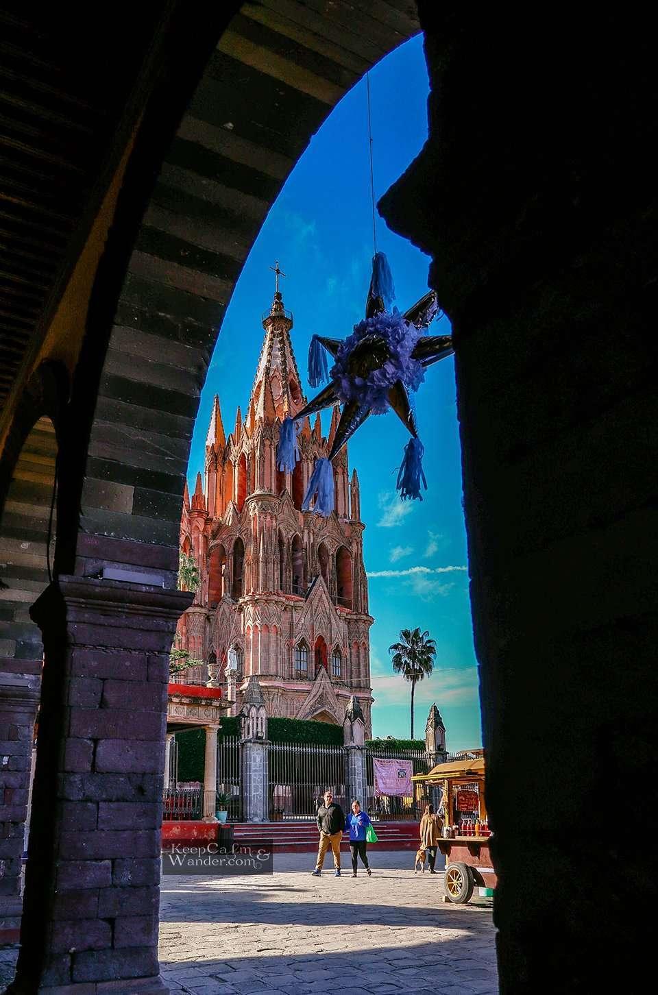 San Miguel de Allende Cathedral (Mexico).