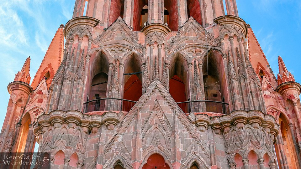 gothic cathedral Mexico San Miguel