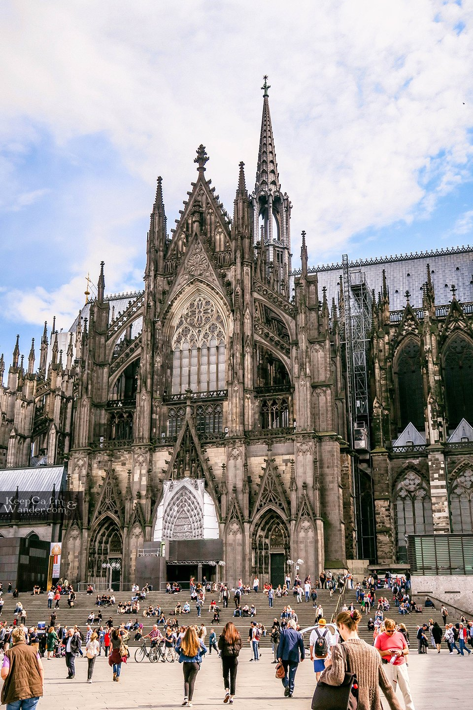 The Facade of Koln Cathedral (Germany). Cologne Travel Blog
