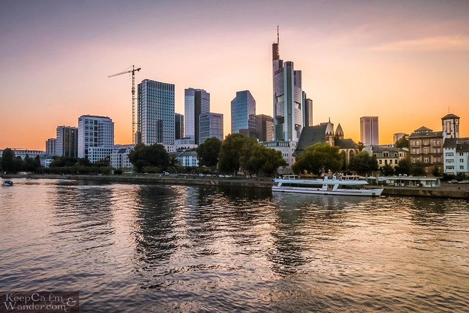 Spend an Afternoon by the Main River in Frankfurt (Germany). Travel Blog Photo