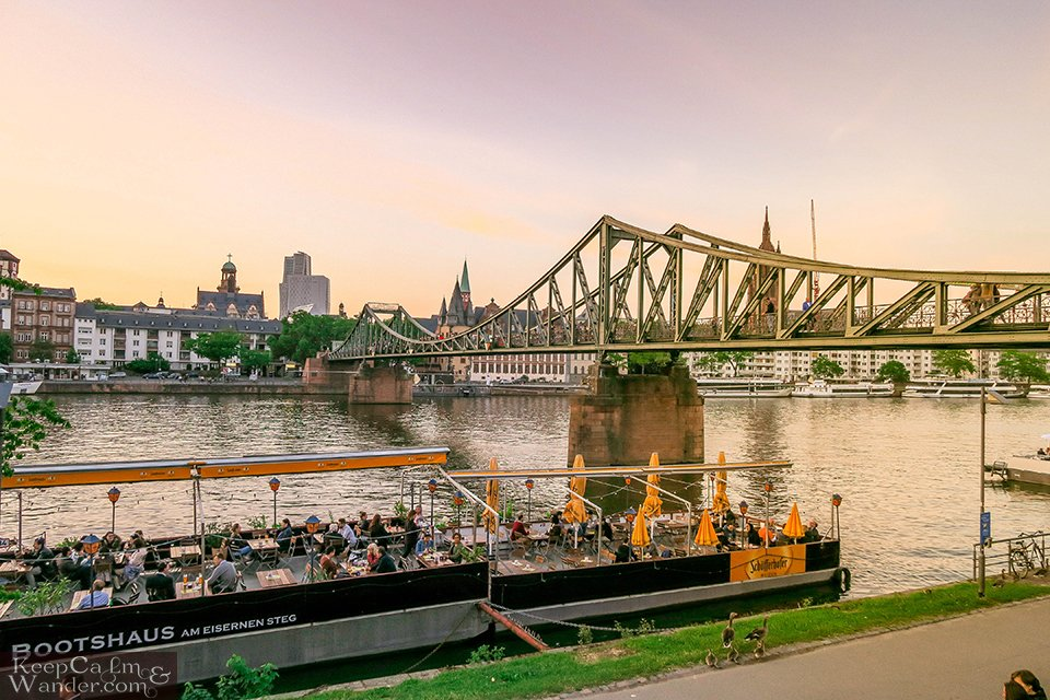 Spend an Afternoon by Frankfurt's Main River (Germany).  Travel Blog Photo
