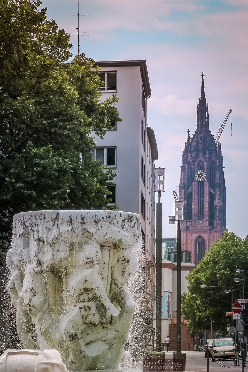 One Day Itinerary in Frankfurt (Germany).