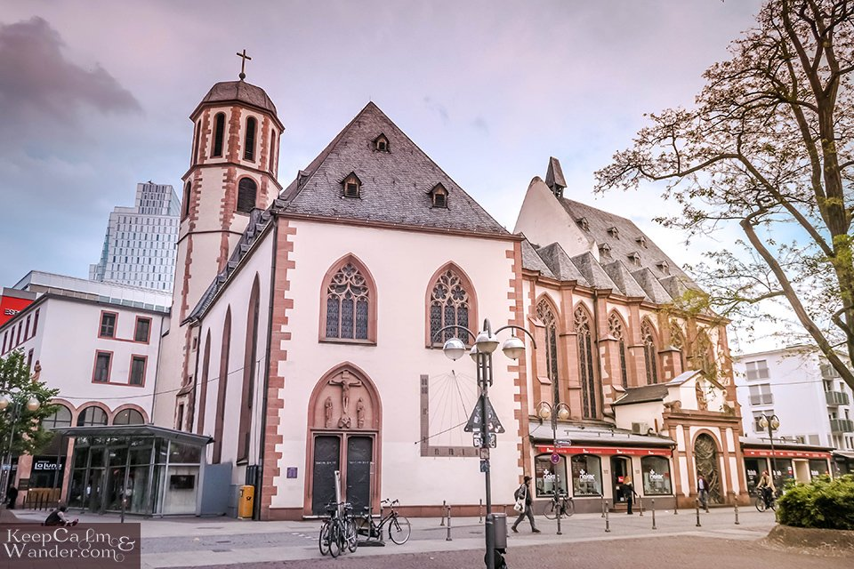 Travel Itinerary: A Day in Frankfurt (Germany). Travel Blog Photo