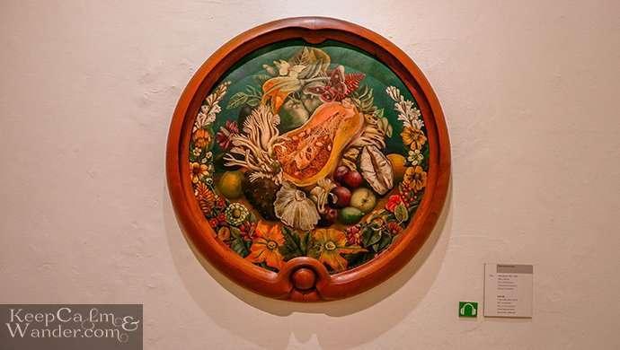 Casa Azul Frida's painting