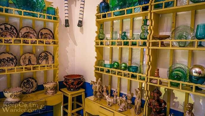 la Casa blue house of Frida in Coyoacan