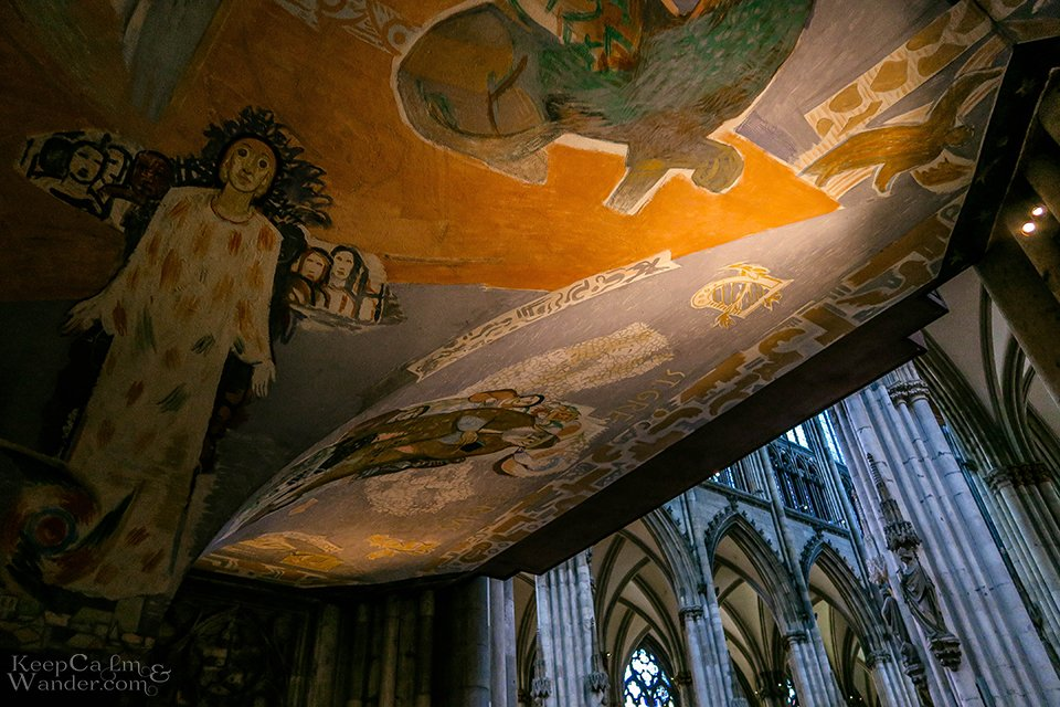 Paintings at Koln Catedral Germany