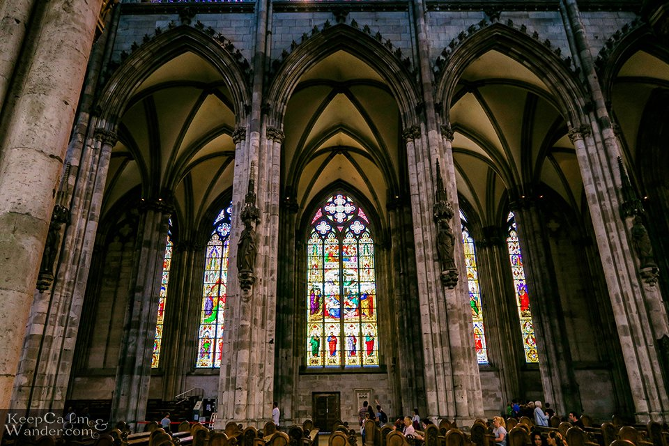 Inside Koln Cathedral (Germany). Travel Blog