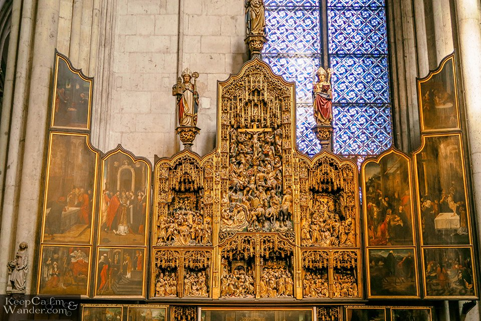 The Altar at Koln Catedral (Germany)