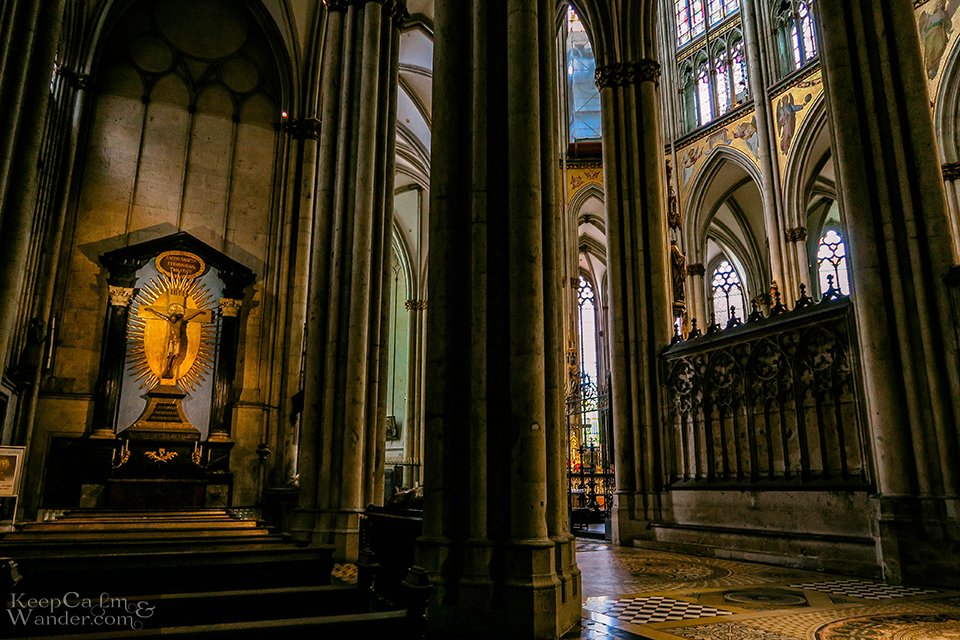 Inside Koln Catedral (Germany).