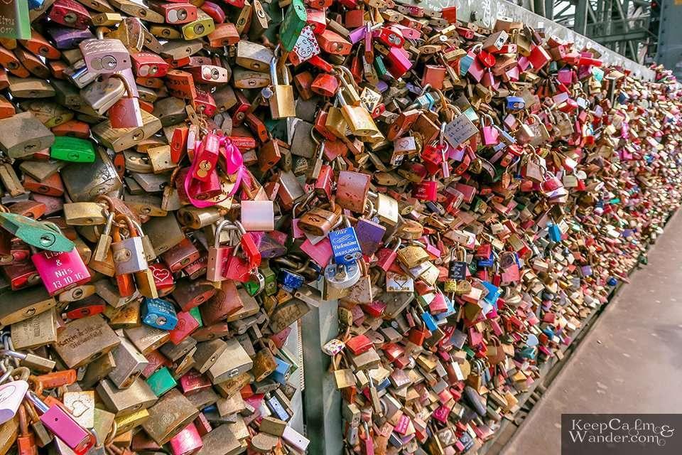 Heart PadLocks Koln (Germany).