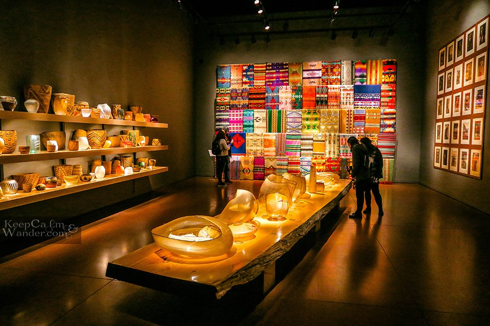 The Northwest Room -  Inside Chihuly Glass Museum in Seattle (USA).