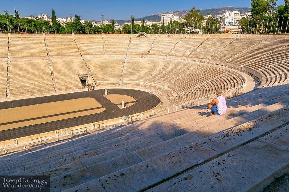 Panathenaic Stadium in Athens, Greece. Travel Blog