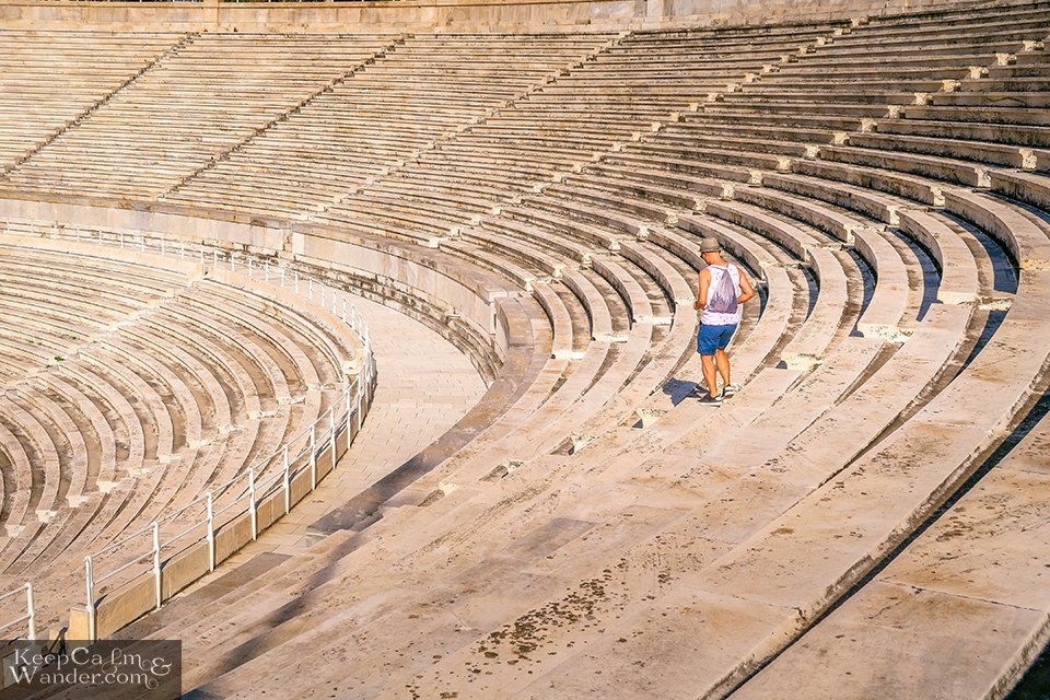 Panathenaic Stadium in Athens, Greece. Travel Blog Photo