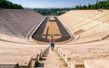 Panathenaic Stadium Olympics Athens Greece 4