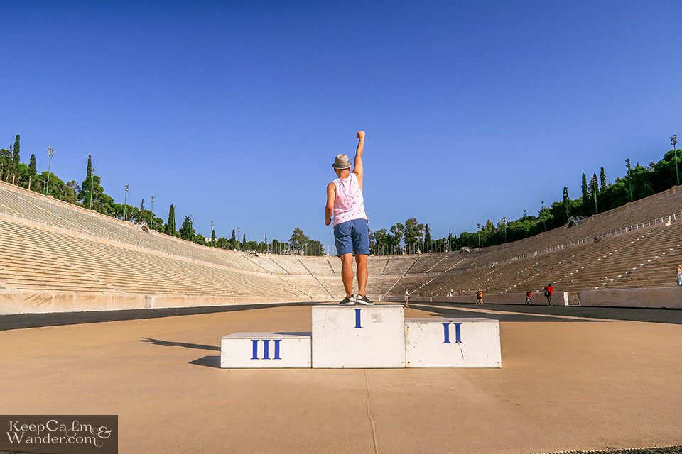 Panathenaic Stadium hosted the first summer Olympics in 1896 (Athens, Greece).