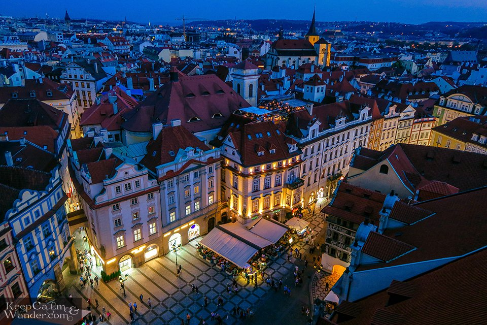 Wouldn't you wish to still on the streets of Prague?